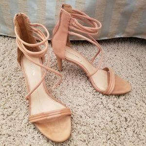 Gianni Bini strappy tan heels